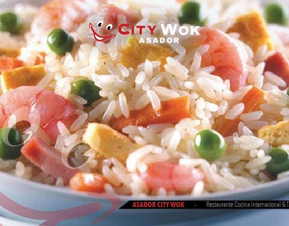 arroz tres delicias city wok