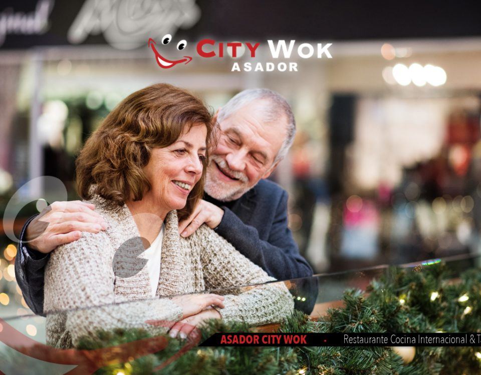 Navidad en el Parque Comercial el Golf y City Wok Talavera de la Reina (Toledo)