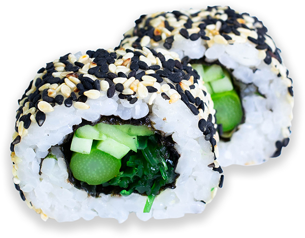 California Maki vegetal