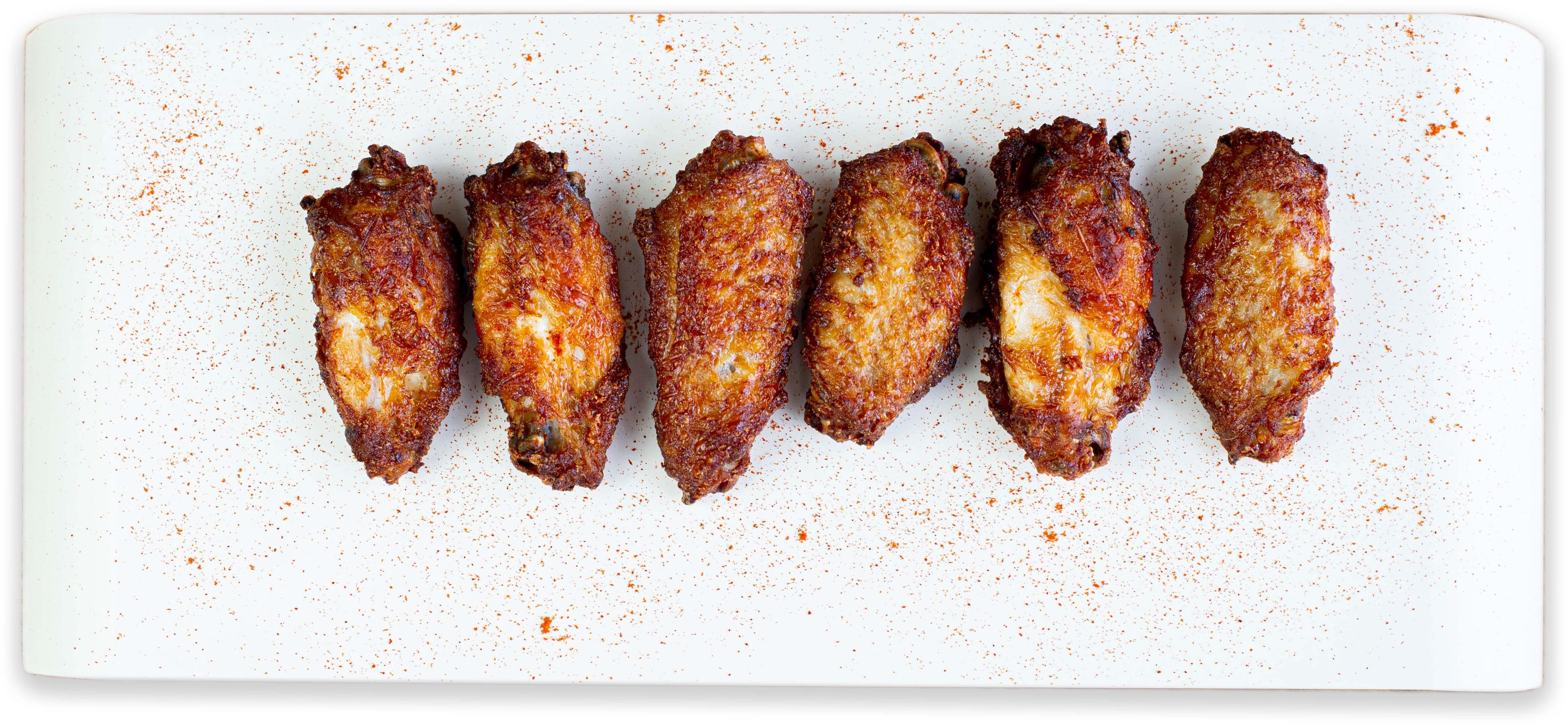 Alitas de pollo con pimentón