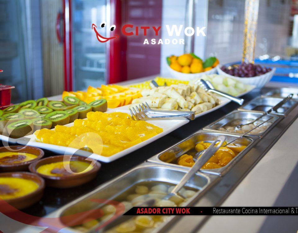 Frutas Asador City Wok