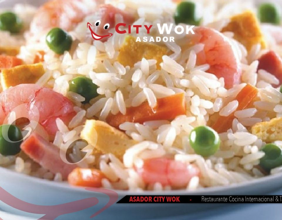 arroz tres delicias city wok