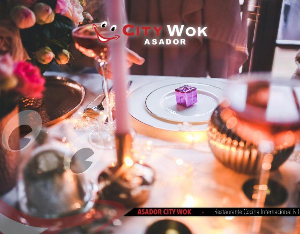 Celebra Nochebuena en Asador City Wok de Talavera, Toledo