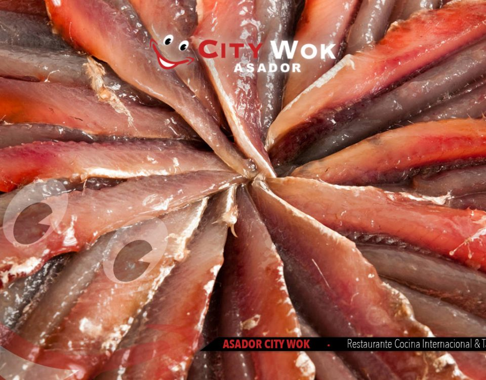 Anchoas en City Wok