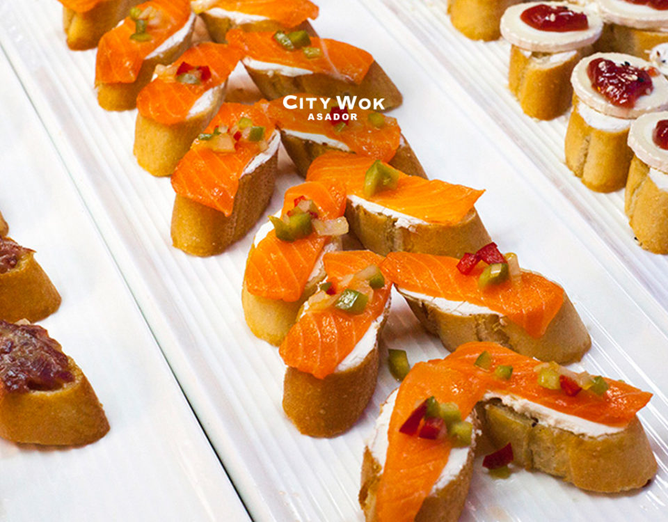 Gastronomía mediterránea en City Wok Talavera